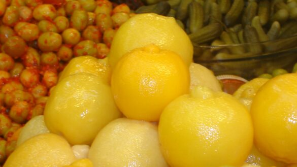 Lemons in the souk