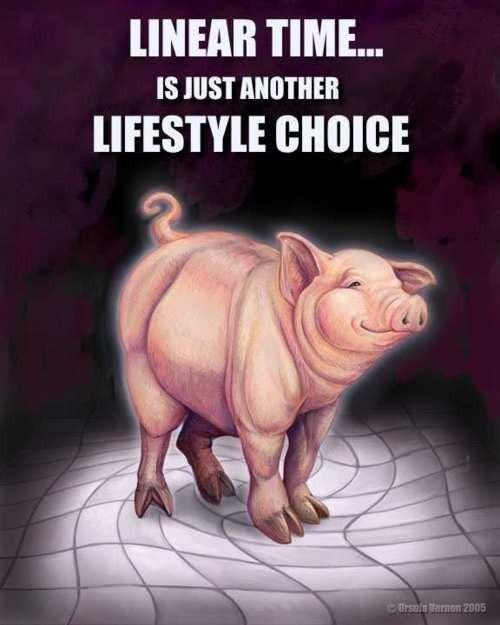 The Transcendent Pig (copyright Ursula Vernon 2003)