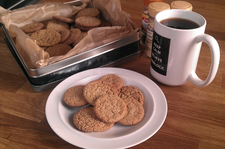 Homemade Ginger Nuts