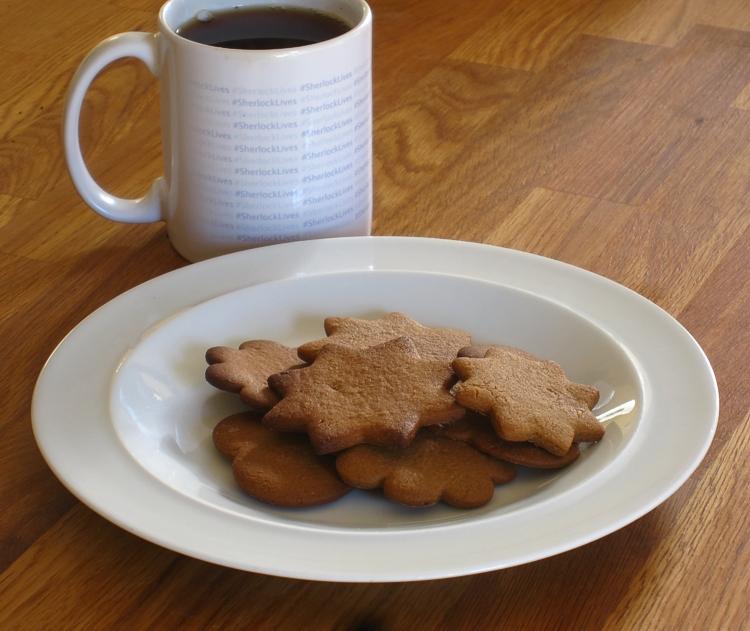 Braunkuchen (Brown Cookies / Biscuits)