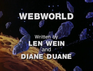 Webworld credits screen