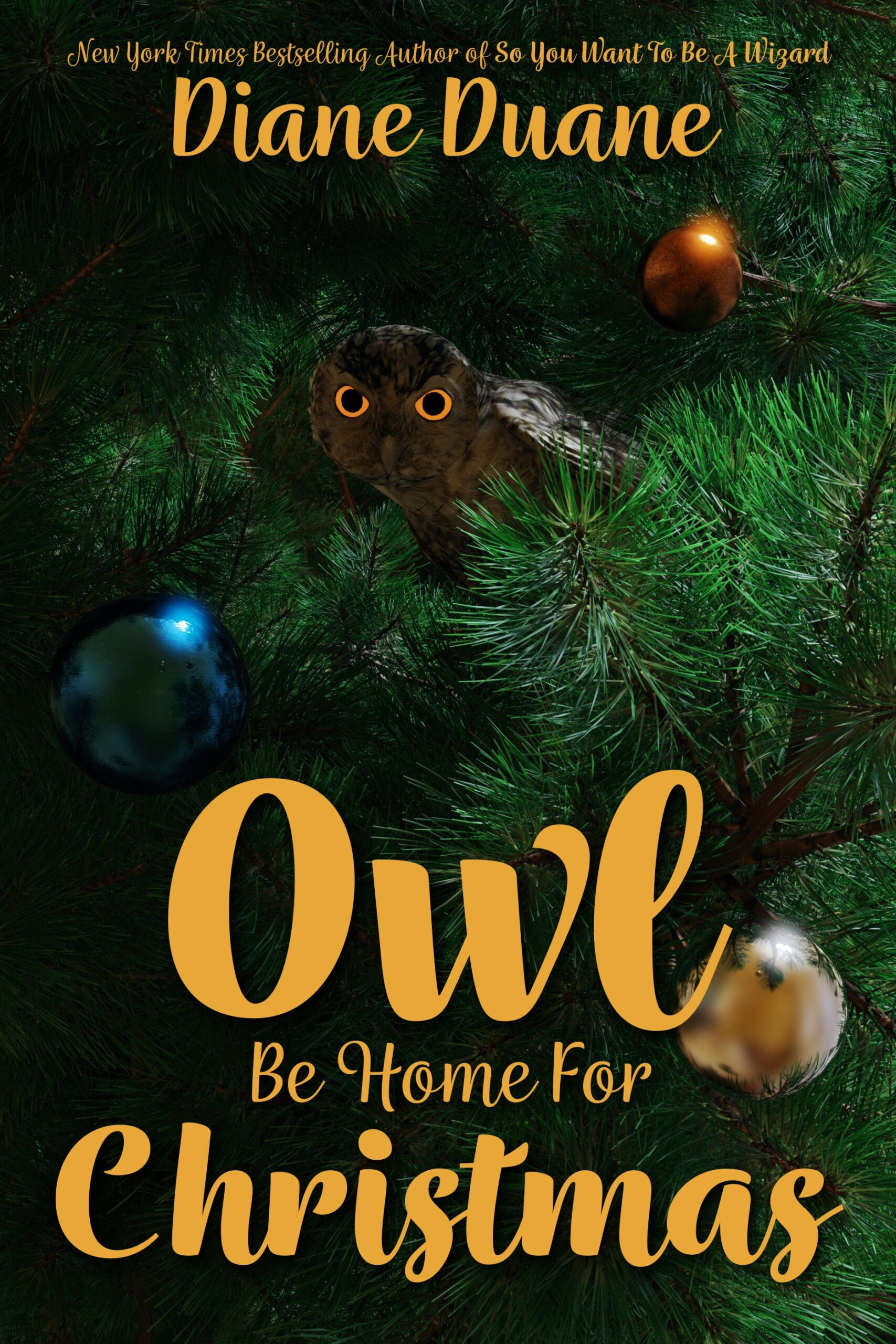 Cover for OWL BE HOME FOR CHRISTMAS