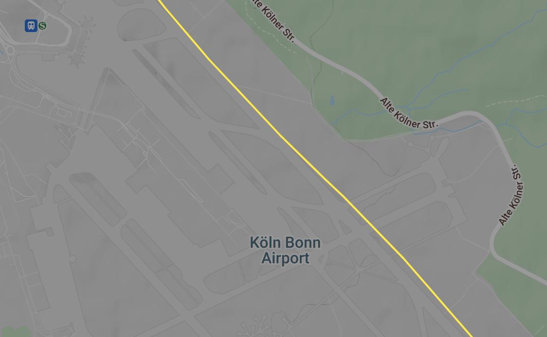 LH-434 flies low through CGN